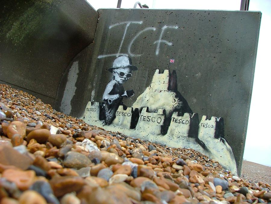 Banksy St Leonards on Sea