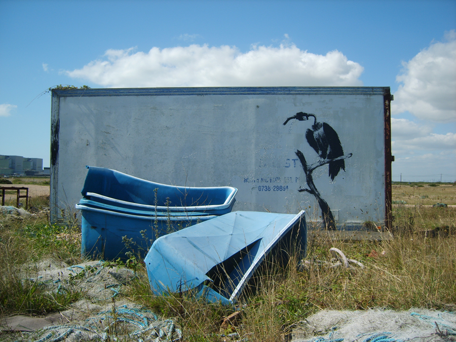 Banksy Dungeness